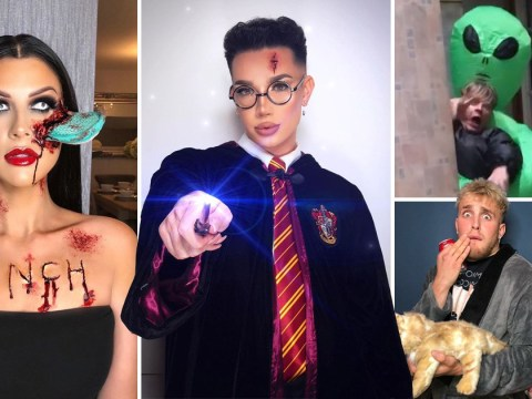 From Jake Paul's Shane Dawson to Tyler Oakley's Ashley O and Mrs Hinchoween: YouTuber Halloween costumes you can't miss