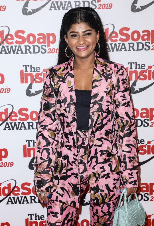 Haiesha Mistry on the red carpet