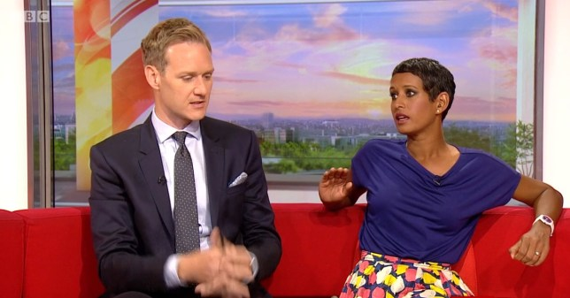 Naga Munchetty, BBC Breakfast 17.07.2019 (Picture: BBC)