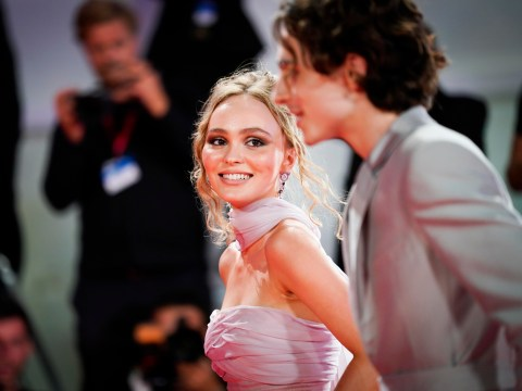 Lily-Rose Depp admits working with boyfriend Timothee Chalamet on The King was 'intimidating'