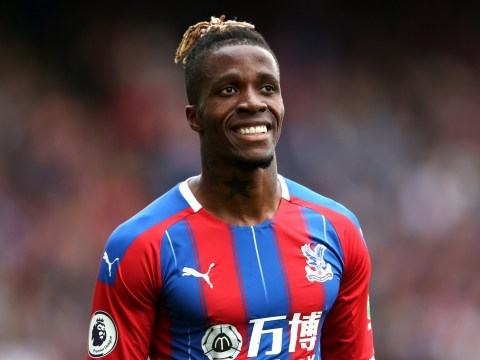 Wilfried Zaha speaks out on failed Arsenal transfer