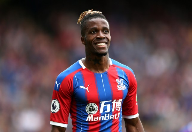Wilfried Zaha was wanted by Arsenal in the summer