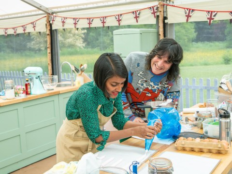 With such dull challenges, it's no surprise the Bake Off contestants have hit a wall