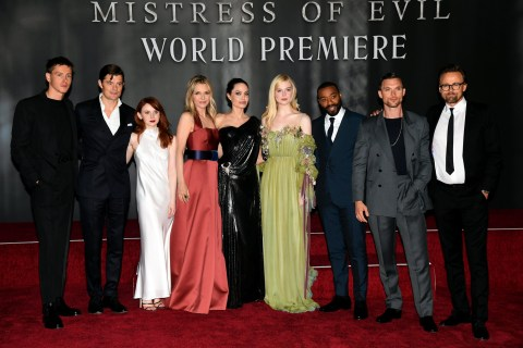 Angelina Jolie Kids Accompany Her To Maleficent 2 Premiere