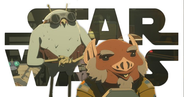 Orka and Flix in Star Wars: Resostamce