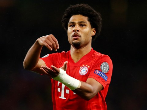 Arsenal fans love Serge Gnabry's dig at Tottenham after 7-2 defeat to Bayern Munich