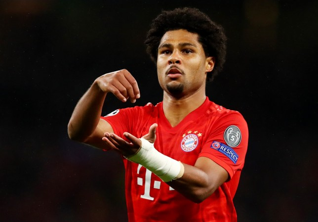 Serge Gnabry scored four as Bayern Munich smashed Spurs in the Champions League