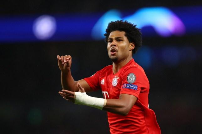 Serge Gnabry scored four as Bayern Munich battered Tottenham
