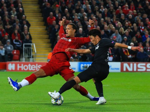 Manchester United fans troll Virgil van Dijk for getting beaten for RB Salzburg goal as Liverpool scrape win at Anfield
