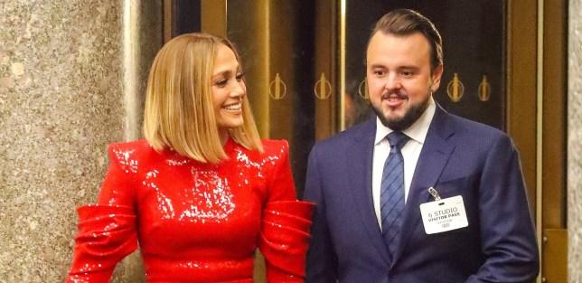 Jennifer Lopez and John Bradley