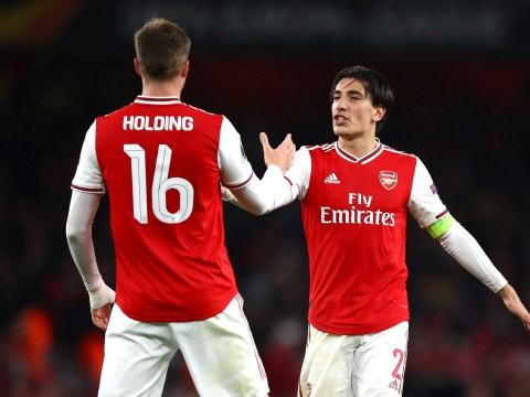 Arsenal provide injury updates on Bellerin, Holding, Kolasinac, Tierney and Martinelli