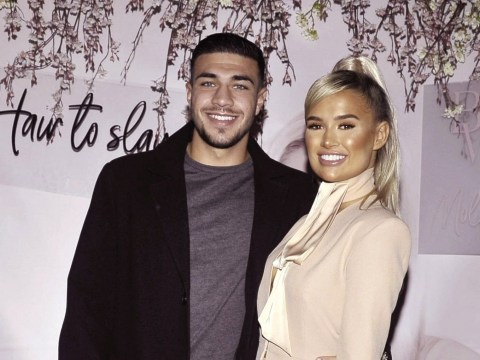Molly-Mae Hague steps out for hair extensions launch alongside Tommy Fury