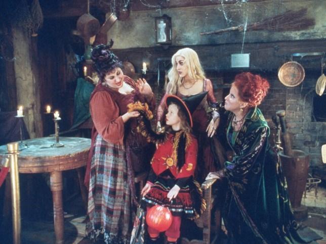 Scene from Hocus Pocus 1993