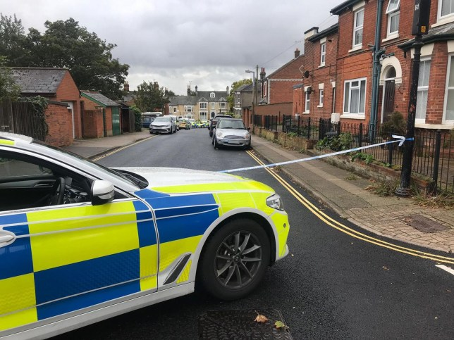 Pictures from the scene of a major incident shows the huge police presence on a Colchester town centre road.Wellesley Road has been cordoned off by police officers this morning as they deal with a serious incident.According to residents they first arrived in the early hours but still remain in the area.Pictures from the scene show the cordon stretching to Hospital Road with several vehicles and officers inside the cordon.