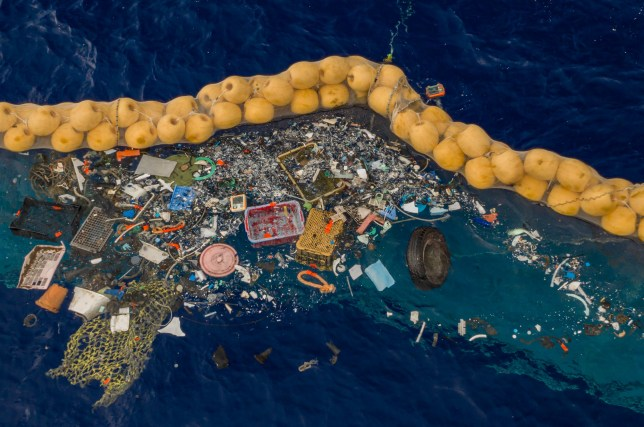 Ocean Cleanup project successfully targets plastic in the Great Pacific Garbage Patch