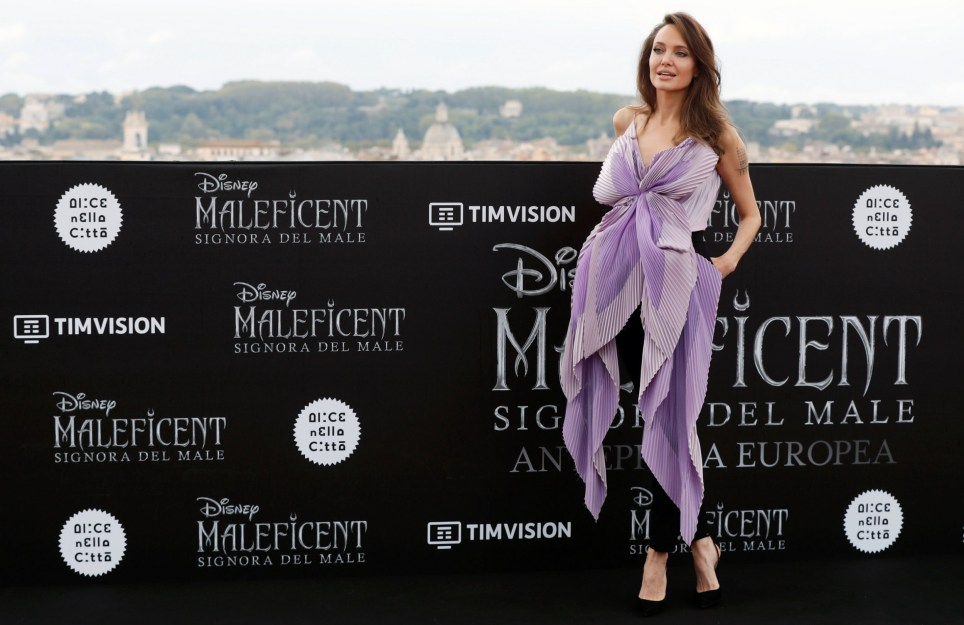 Angelina Jolie Is A Goddess As She Radiates At Maleficent