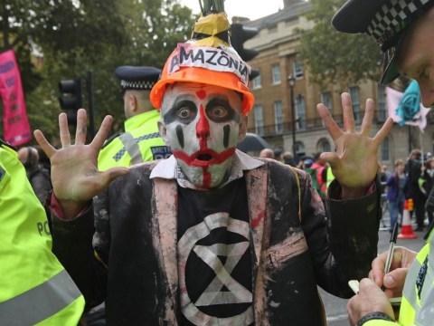 Boris Johnson calls Extinction Rebellion protesters 'uncooperative crusties'