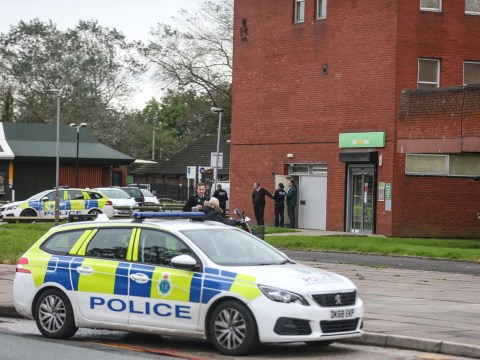 Hunt for knifeman who stabbed Jobcentre security guard in broad daylight