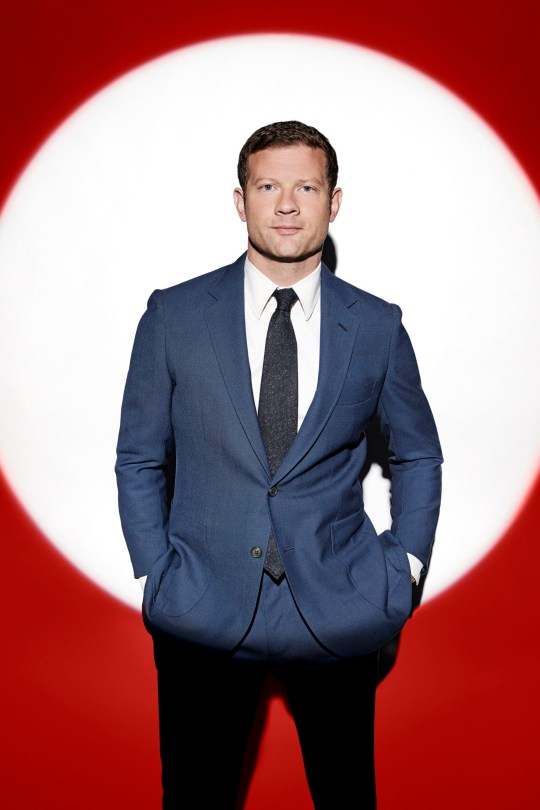 EMBARGOED TO 0001 TUESDAY OCTOBER 08 MANDATORY CREDIT REQUIRED: SYCO/THAMES TV Undated handout photo issued by ITV of Dermot O'Leary in the new ITV series of The X Factor: Celebrity. PA Photo. Issue date: Tuesday October 8, 2019. See PA story SHOWBIZ XFactor. Photo credit should read: Syco/Thames TV/PA Wire NOTE TO EDITORS: This handout photo may only be used in for editorial reporting purposes for the contemporaneous illustration of events, things or the people in the image or facts mentioned in the caption. Reuse of the picture may require further permission from the copyright holder.
