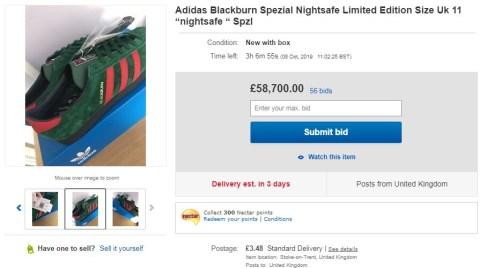Special Edition Adidas Trainers Are Selling For Up To 65 000 On Ebay Metro News