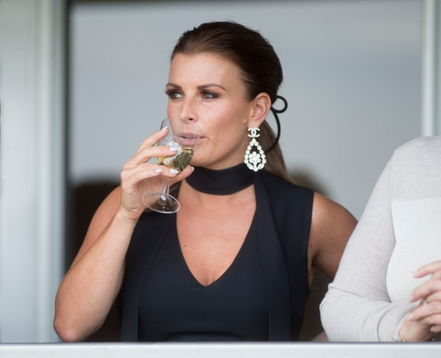 Mandatory Credit: Photo by REX (9629557v) Coleen Rooney Grand National Day, Randox Health Grand National Festival, Day Three, Aintree Racecourse, Liverpool, UK - 14 Apr 2018