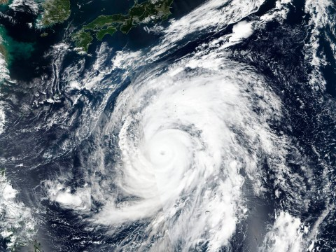 Super typhoon three times bigger than previous killer set to smash into Japan