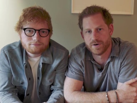 Ed Sheeran thinks he's meeting Prince Harry to defend gingers