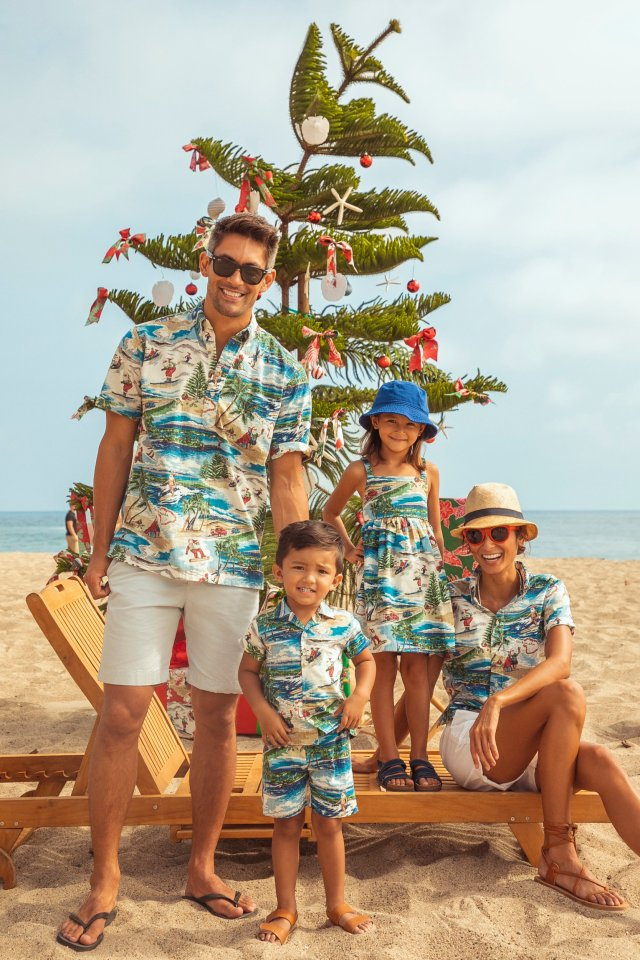 Reyn Spooner debuts their annual Hawaiian Christmas print for 2019