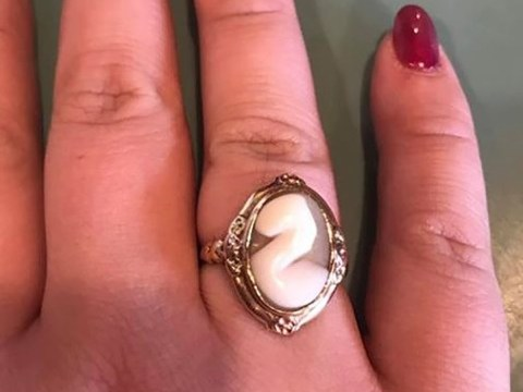 Bride is savagely mocked for engagement ring that looks like 'a squirt of mayo'