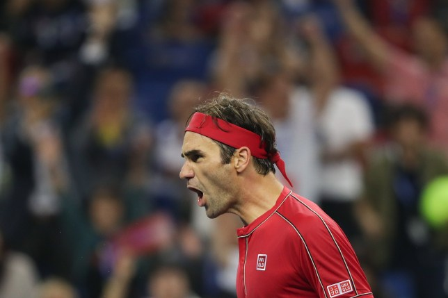 Roger Federer was beaten in three sets by Alexander Zverev at the Shanghai Masters