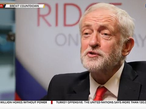 Jeremy Corbyn refuses to say he'll stand-down if Labour lose election