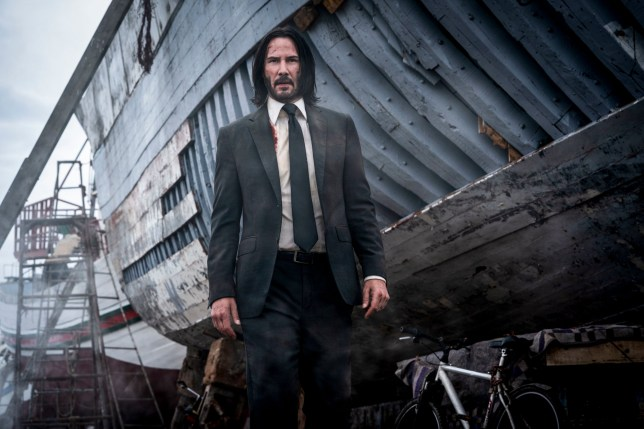 Keanu Reeves as John Wick 'John Wick: Chapter 3 - Parabellum'