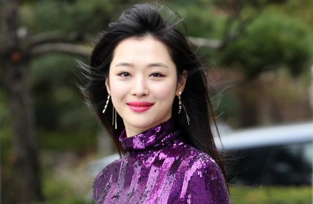 epa07919521 (FILE) - This undated file photo shows South Korean singer and actress Sulli, who was found dead at her residence in Seongnam, south of Seoul, South Korea, 14 October 2019. A probe into the cause of her death is currently underway. EPA/YONHAP SOUTH KOREA OUT
