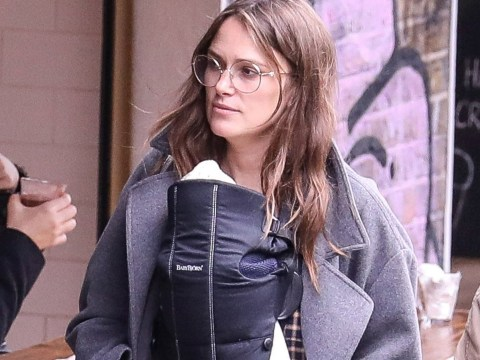 Keira Knightley brings newborn baby out and about weeks after giving birth