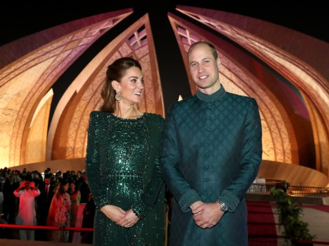 Why are Kate and William in Pakistan right now?