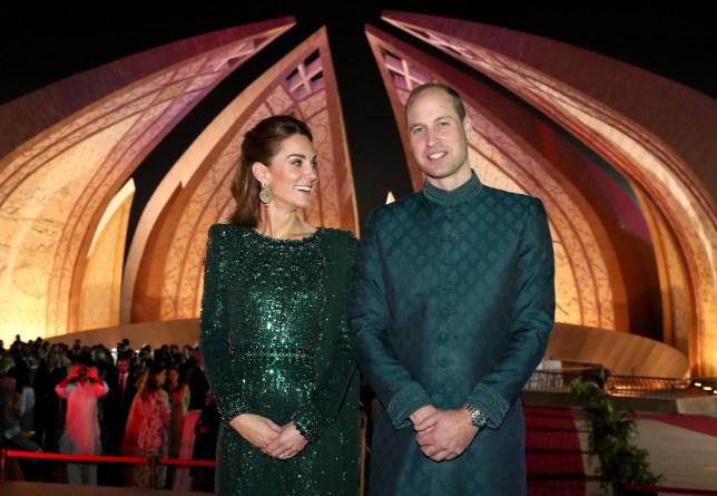 The Duke and Duchess of Cambridge on their tour of Pakistan