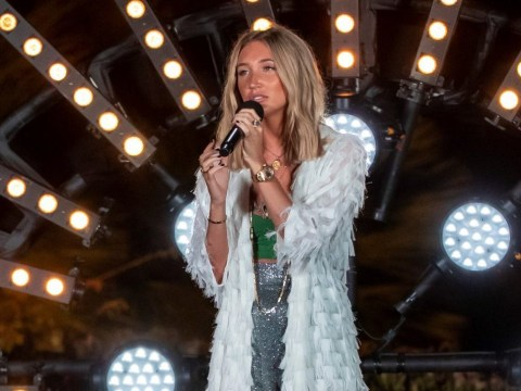 First look at Megan McKenna's X Factor: Celebrity audition as she sings original to become bookies' favourite