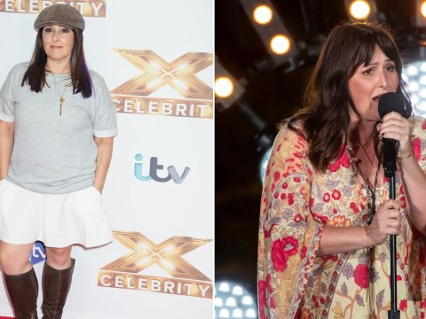 Ricki Lake found X Factor Celebrity a hard watch after losing 20lbs since first audition: 'It's hard to see myself'