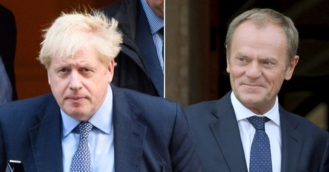 Boris Johnson to write to Donald Tusk to seek a Brexit delay, despite telling Parliament he wouldn't AP - EMPICS