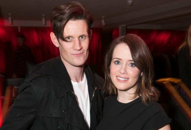 Mandatory Credit: Photo by Dan Wooller/REX (10450852x) Matt Smith (M) and Claire Foy (W) 'Lungs' party, After Party, London, UK - 19 Oct 2019
