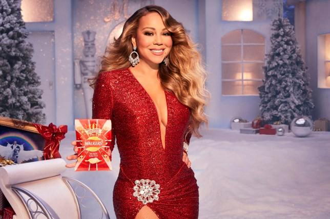 Christmas Model.Mariah Carey Confirmed For Walkers Christmas Tv Ad 2019