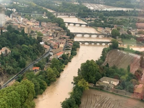 British woman dead after being swept away by floods in southern France
