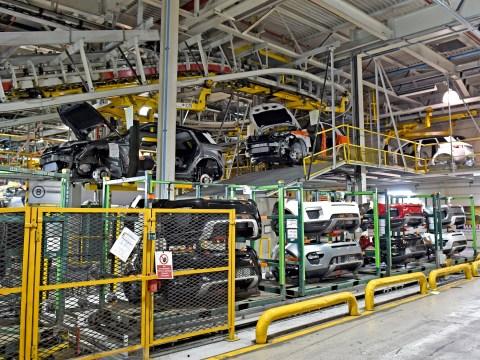 Dead body found at Jaguar Land Rover site