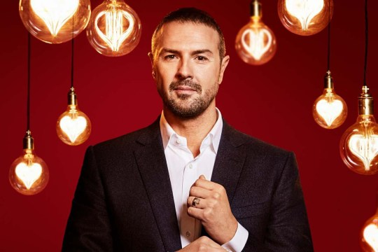 This image is strictly embargoed for publication until 00.01 Friday 29th December 2017 From Thames Take Me Out: SR10 on ITV Pictured: Paddy McGuinness. This photograph is (C) Thames / Fremantle and can only be reproduced for editorial purposes directly in connection with the programme or event mentioned above. Once made available by ITV plc Picture Desk, this photograph can be reproduced once only up until the transmission [TX] date and no reproduction fee will be charged. Any subsequent usage may incur a fee. This photograph must not be manipulated [excluding basic cropping] in a manner which alters the visual appearance of the person photographed deemed detrimental or inappropriate by ITV plc Picture Desk. This photograph must not be syndicated to any other company, publication or website, or permanently archived, without the express written permission of ITV Plc Picture Desk. Full Terms and conditions are available on the website www.itvpictures.com For further information please contact: james.hilder@itv.com / 0207 157 3052