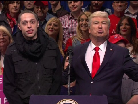Pete Davidson plays terrorist who thanks Alec Baldwin's Trump 'for bringing back jobs to ISIS'