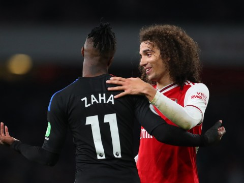 Matteo Guendouzi speaks out on his 'rugby tackle' to stop Wilfried Zaha during Arsenal's draw with Crystal Palace