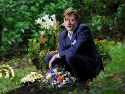 Coronation Street spoilers: Daniel Osbourne says a devastating goodbye to Sinead at her funeral