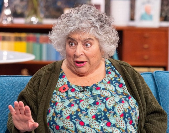 Editorial use only Mandatory Credit: Photo by Ken McKay/ITV/REX (10458532r) Miriam Margolyes 'This Morning' TV show, London, UK - 28 Oct 2019 LET?S START THE SHOW WITH A BANG! MIRIAM MARGOLYES IS HERE She?s one of our all-time favourite guests and as Miriam Margolyes becomes a permanent fixture on Call The Midwife, the actress returns to the sofa where it all began. In the upcoming ninth series of the BBC drama, the Poplar midwives battle to save Nonnatus House from demolition and face a new wave of disease. And from one East London set to another - Miriam also tells us about playing a ?truly evil and wicked? mother in new play ?Sydney & The Old Girl?.
