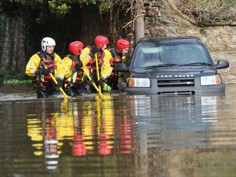 More than 152 flood alerts issued as river levels surge after heavy rain