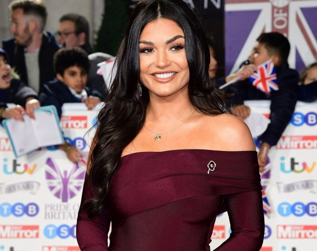 India Reynolds arriving for the Pride of Britain Awards held at the The Grosvenor House Hotel, London. PA Photo. The Daily Mirror Pride of Britain Awards, in partnership with TSB, will broadcast on ITV on 5th November at 8pm. Picture date: Monday October 28, 2019. See PA story SHOWBIZ Pride. Photo credit should read: Ian West/PA Wire